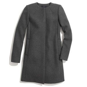Madewell Curator Wool Coat Grey Small